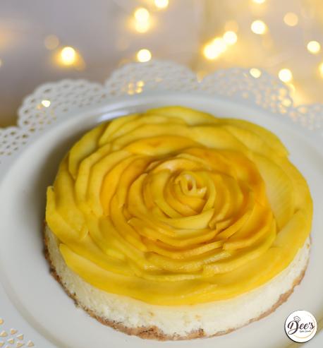 Fresh Mango Cheesecake