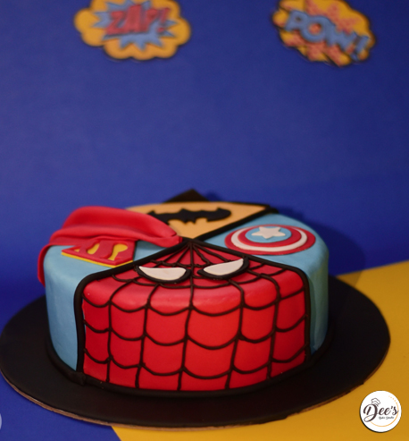 DC Comics Cake