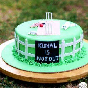 Cricket Cake