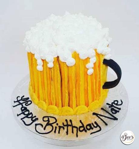 3D Beer Cake